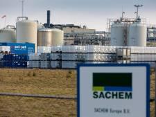 Ongeluk zit ook bij chemiebedrijf Sachem in klein hoekje: verkeerde beweging leidde tot lekkage