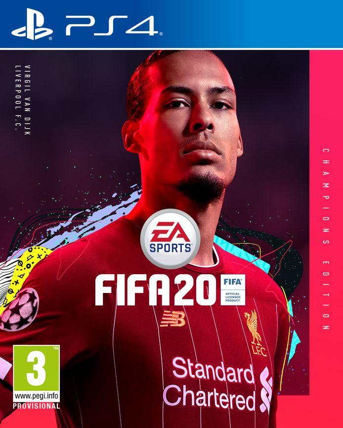 Virgil van Dijk op cover FIFA20