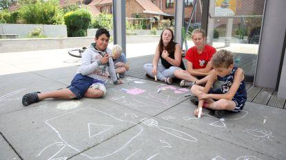 In deze speelstraten zijn tijdens de zomervakantie kinderen baas in Halle