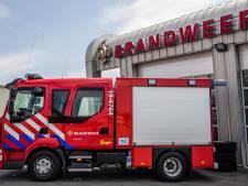 Rook over heel Tholen te zien tijdens containerbrand in Sint-Maartensdijk