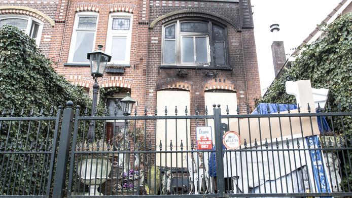 De woning van Raoul La Bastide is na de brand van maandagavond onbewoonbaar.