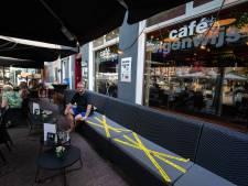 Café Eigenwijs in Kampen weer open nadat het werd gesloten vanwege het niet-naleven van de coronaregels