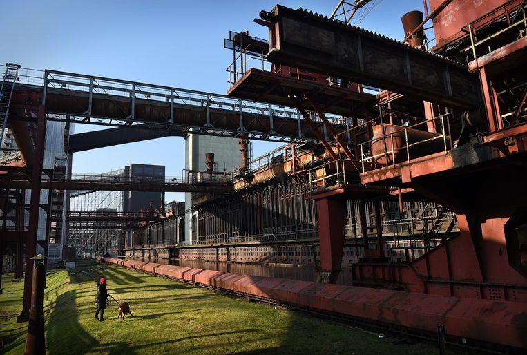 Zollverein Beeld Marcel van den Bergh/de Volkskrant