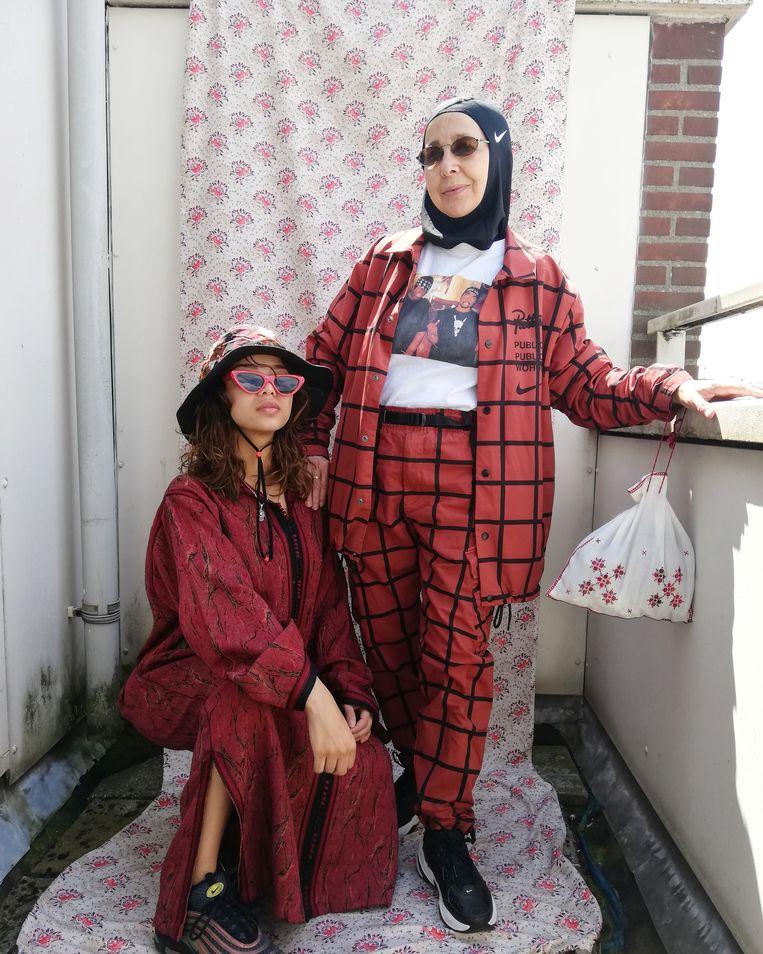Meryem Slimani, uit de serie UMI, 2019. Beeld Meryem Slimani