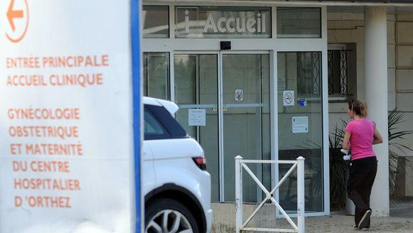 Het ziekenhuis in Orthez in het departement Pyerenees-Atlantiques.