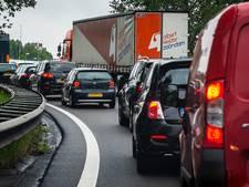 File op A58 tussen Roosendaal en Wouwse plantage na ongeluk