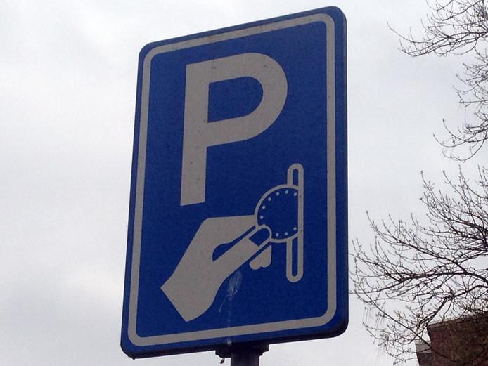 Parkeren in Goes wordt volgend jaar niet duurder.