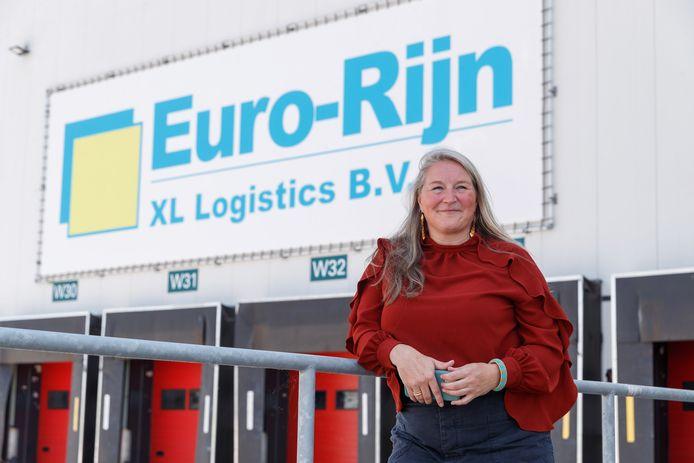 Peggy Kakebeeke, bestuurslid nieuwe VNO afdeling industrieterrein Moerdijk. Zij is general manager van logistiek bedrijf Euro Rijn