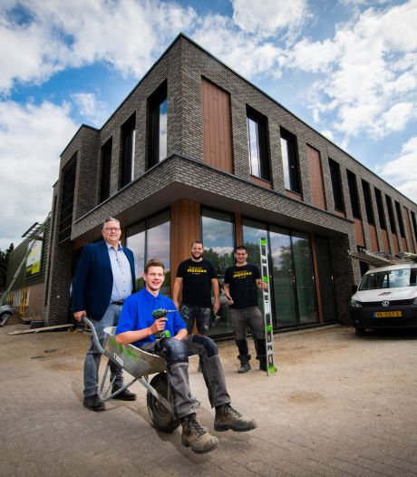 Timmerman in spe bouwt aan eigen vakschool in Apeldoorn