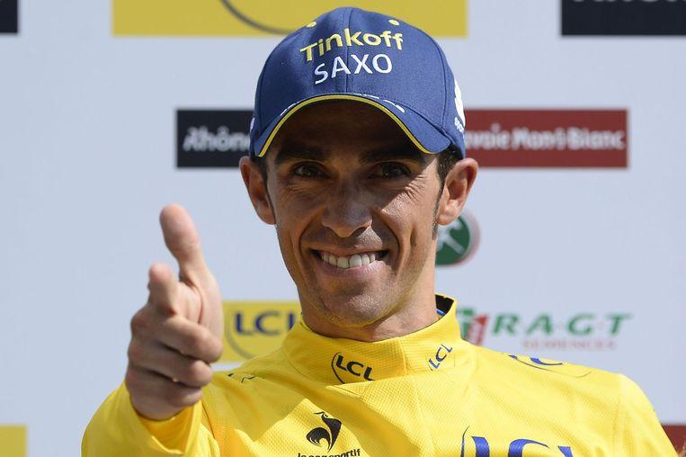 Alberto 'El Pistolero' Contador Beeld ANP