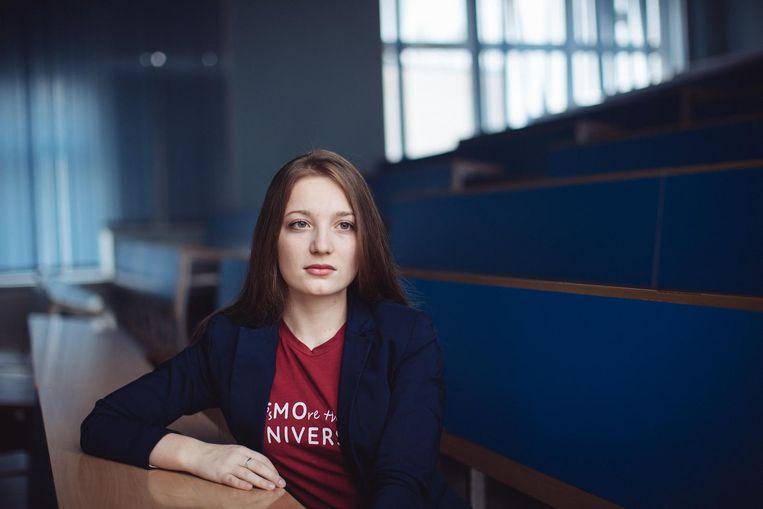 Daria Jakovleva behoort tot de beste vrouwelijke programmeurs ter wereld. Beeld Max Avdeev
