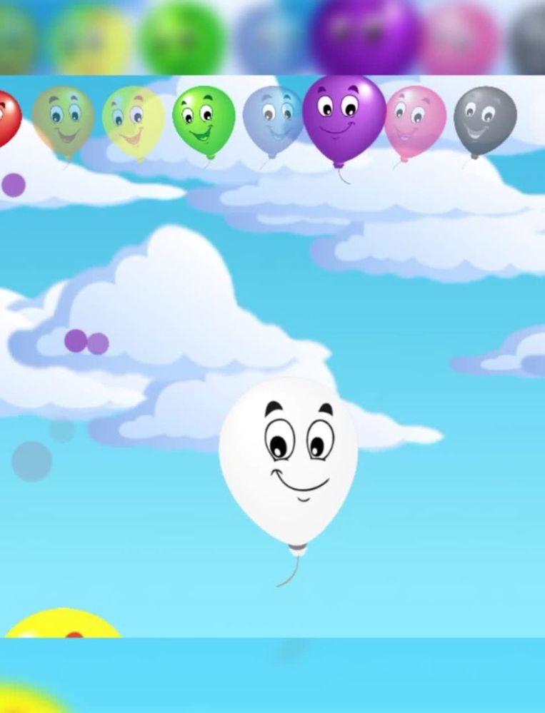 Bij het doorprikken van ballonnen in het spelletje Balloon pop ziet de speler soms een speciale ballon voorbijzweven, waarna de mededeling 'volledig spel ontgrendelen' verschijnt. Kosten: 2,99 euro. Beeld