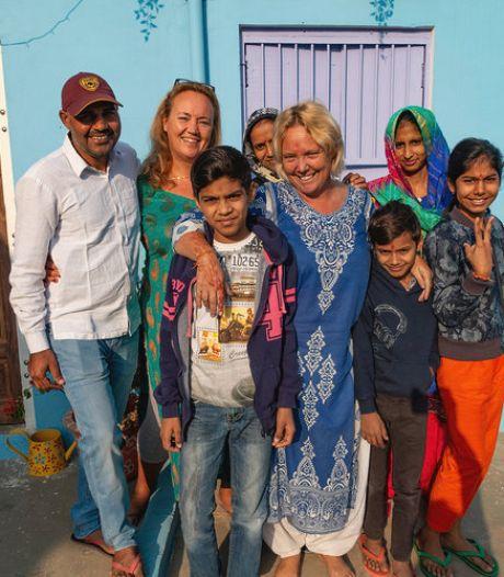 Patries overwintert elk jaar bij familie in Indiaas plattelandsdorp: 'Dit is ons goede doel'