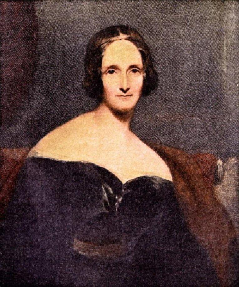 Portret van Mary Shelley Beeld getty