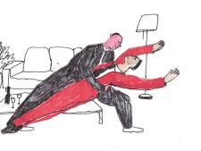 Tony werd gewaarschuwd: 'Twee mannen op de dansvloer, dat kan niet in Argentinië'