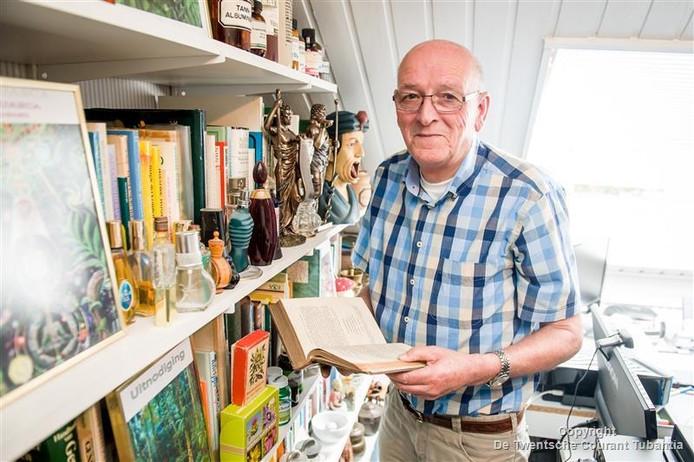 Albert Luttikhuis verzamelt kennis over geneeskrachtige planten