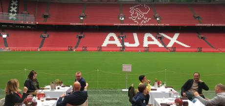 Dineren in de Arena: 'Op deze manier kan ik het gras weer een beetje ruiken'