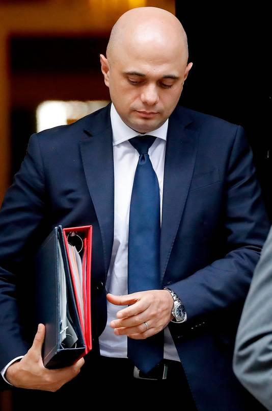 Sajid Javid, ministre britannique de l'Intérieur