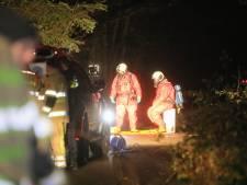 Vaten chemisch afval gevonden in bosgebied bij Bilthoven