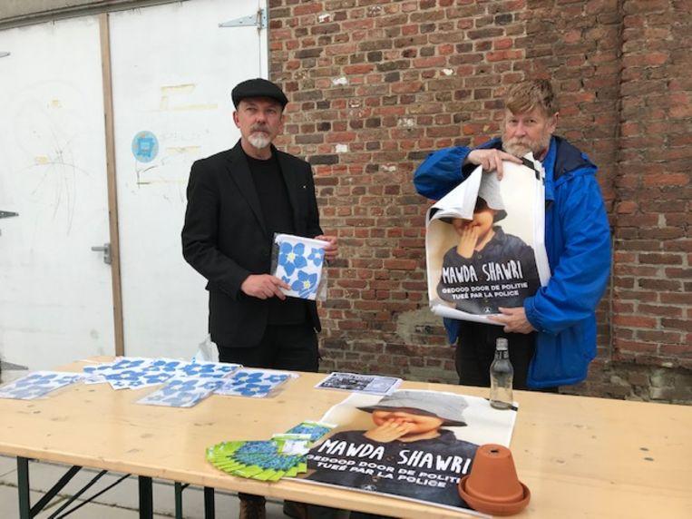 De beweging 'Solidarity for All' deelde pamfletten uit in Leuven.