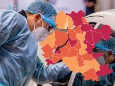 KAART | Flinke stijging coronabesmettingen in IJsselland, zes gemeenten donkerrood
