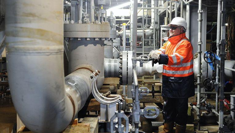 De warmtekrachtcentrale in Schoonebeek. © anp Beeld null