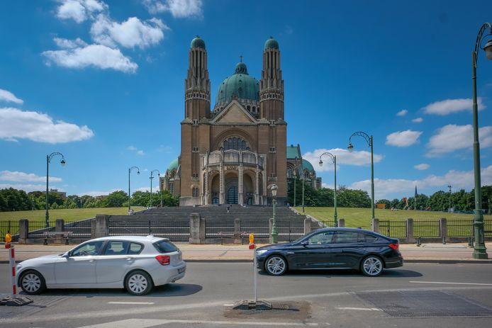 Trappen van Basiliek van Koekelberg