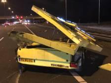 Bulgaarse trucker na rammen pijlwagen op A50: 'Ik kreeg te weinig ruimte'