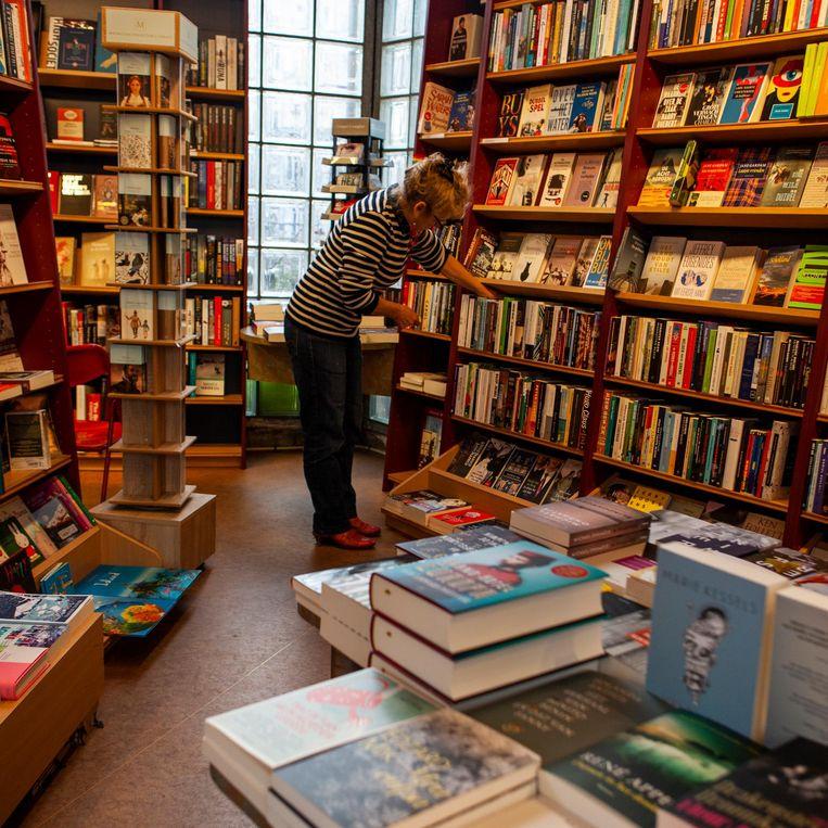 Pantheon boekholt A La Carte, Sint Antoniesbreestraat 134 Beeld Lin Woldendorp