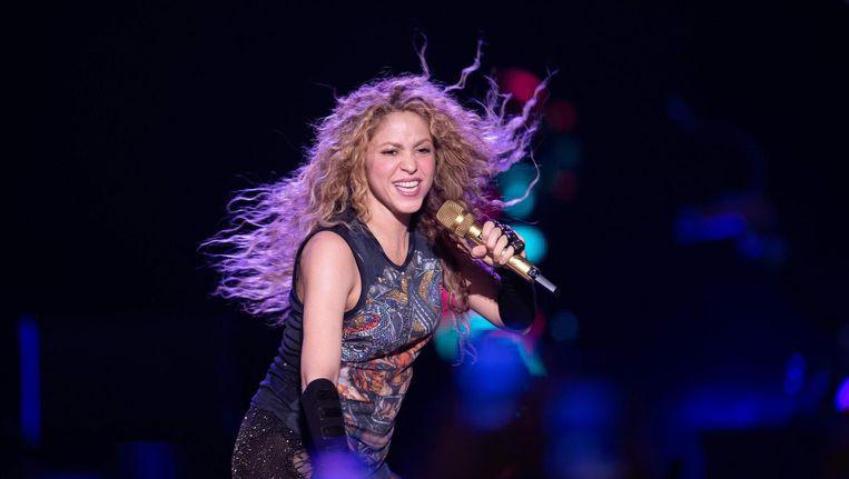 Shakira in de Ziggo Dome Beeld afp