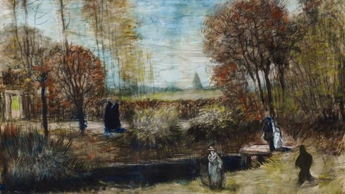 De Tuin van de pastorie van Van Gogh.