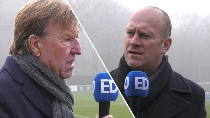 Clubwatcher Rik Elfrink en Aad de Mos