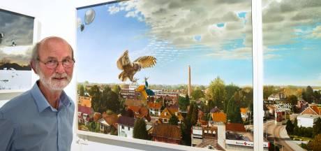 Elk schilderij is een ontdekkingstocht voor Louis Nijenhuis
