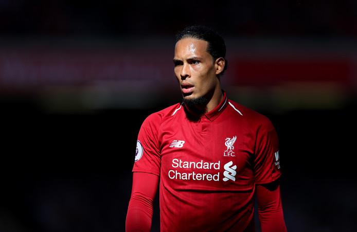 Liverpoolspeler Virgil van Dijk.