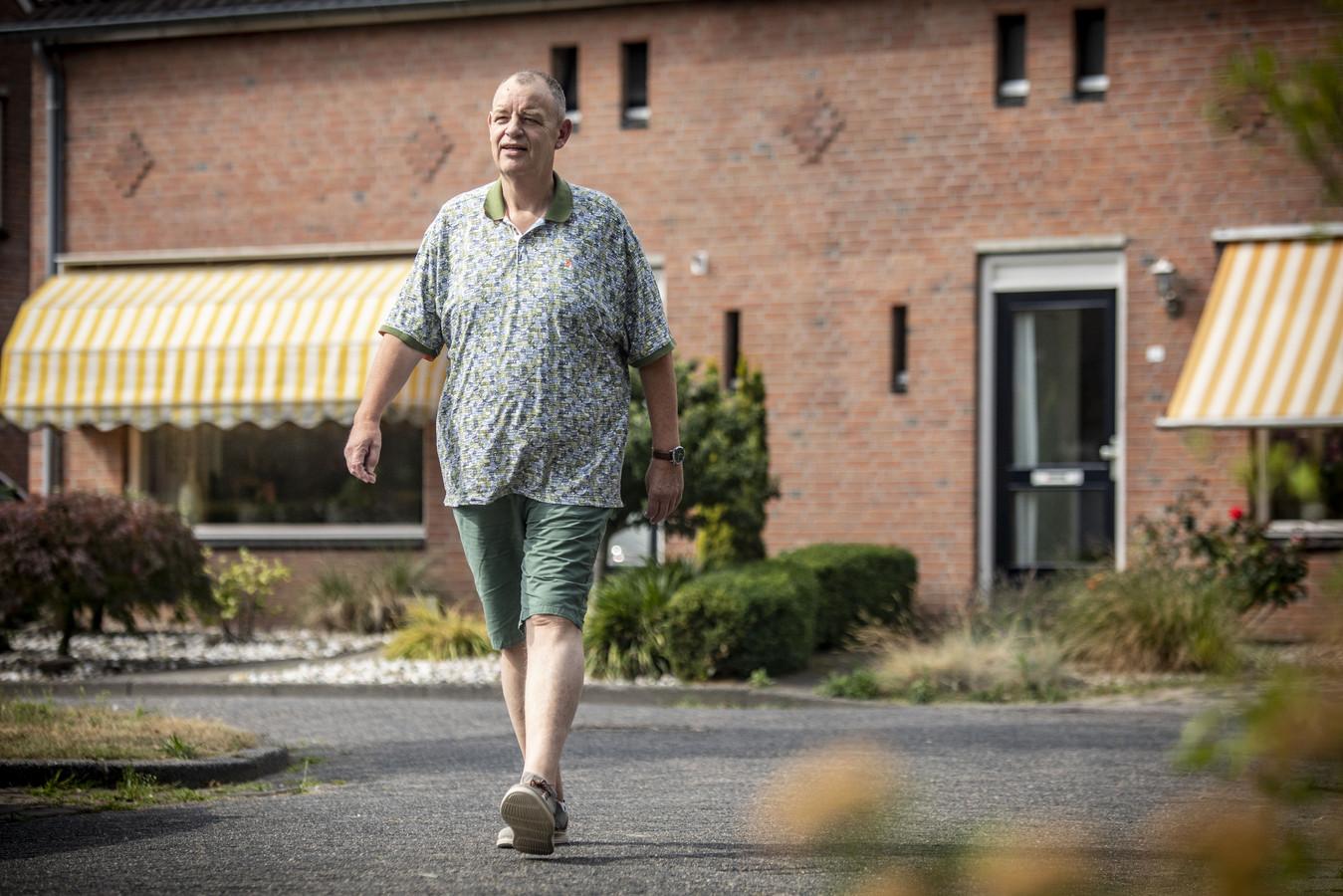 Gerard Ekelhof viel zeventig kilo af na een maagverkleining. Hij voelt zich nu een stuk fitter.