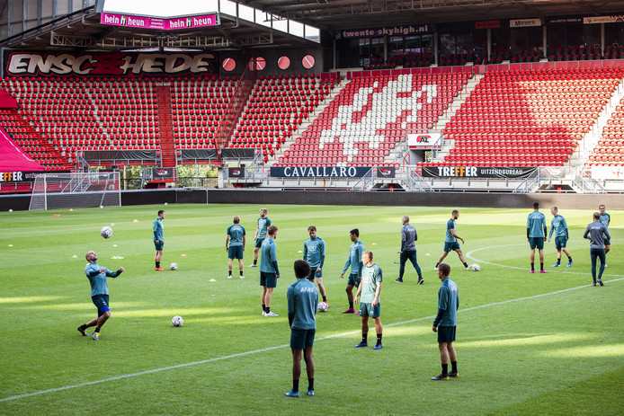 Royal Antwerp speelt donderdagavond tegen AZ in de Grolsch Veste.