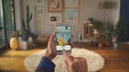 De nieuwe Ikea-app toont je meteen hoe die ene zetel in de kamer zal staan