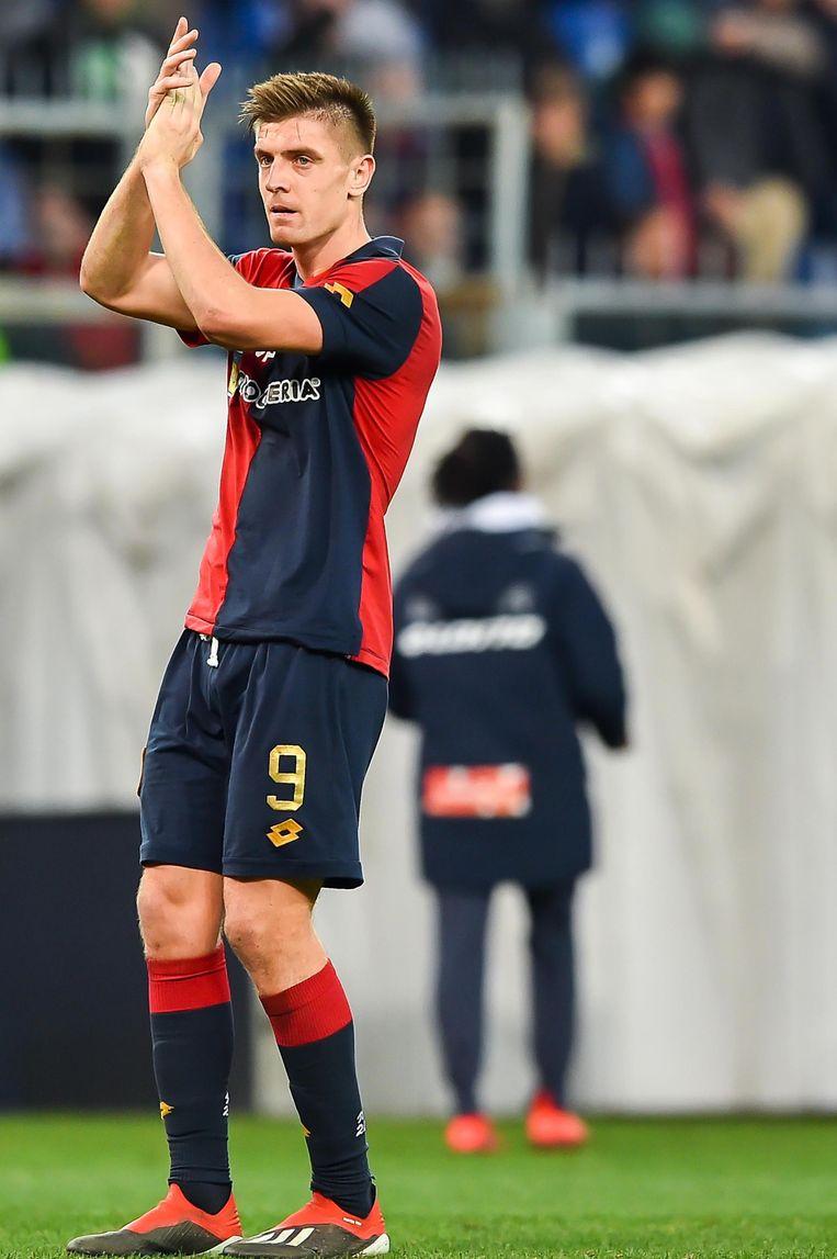 Krzysztof Piatek van FC Genoa.