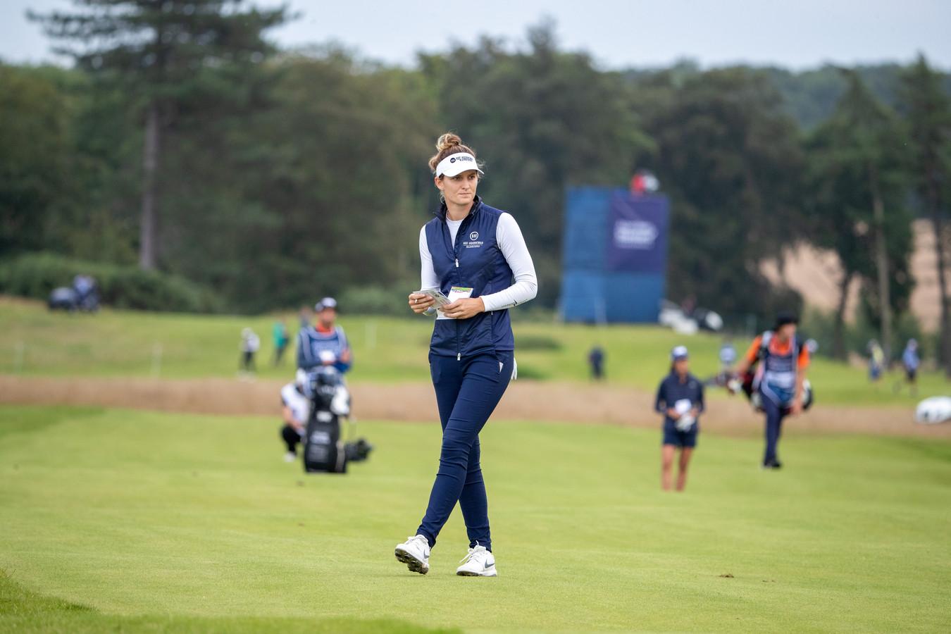 Anne van Dam lukte het niet haar positie te verbeteren op de tweede dag van het LPGA-toernooi in het Canadese Aurora.