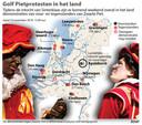 2019-11-14 14:54:51 Golf Pietprotesten in het land. UPDATE eerder verzonden graphic. ANP INFOGRAPHICS