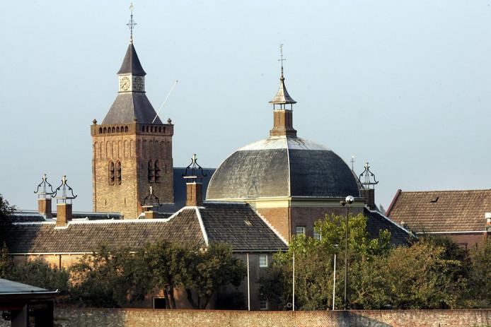 Eén van de toeristische trekpleisters van de gemeente Vijfheerenlanden is het Hofje van Mevrouw van Aerden in Leerdam.