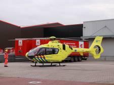 Persoon zwaargewond: overreden door voertuig bij staalbedrijf in Veenendaal