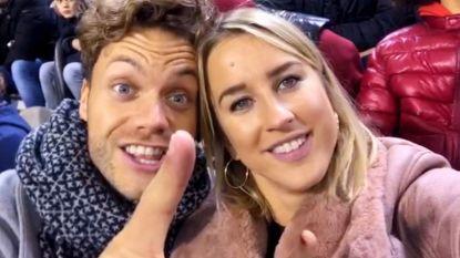 Kat en Nick supporteren voor Dries Mertens tijdens België-Ijsland