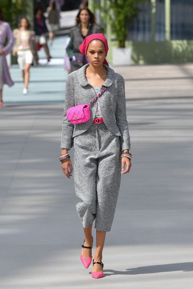 Chanel Cruise collection.
