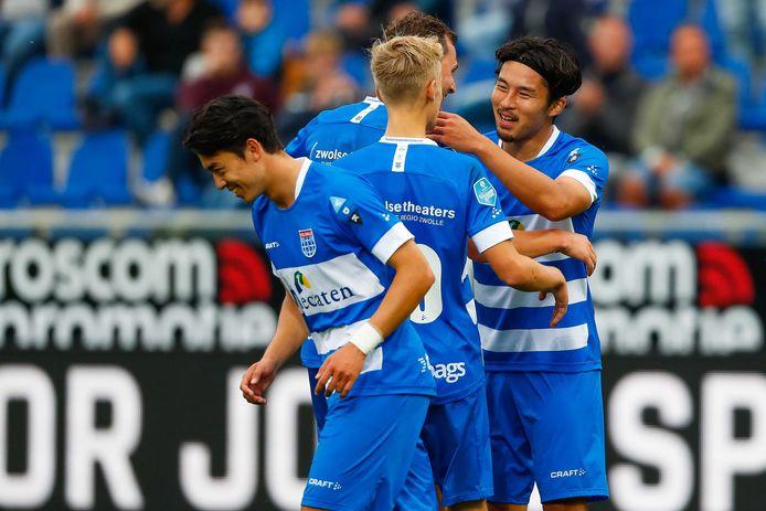 PEC Zwolle traint voorlopig gewoon door in aanloop naar het duel met PSV.