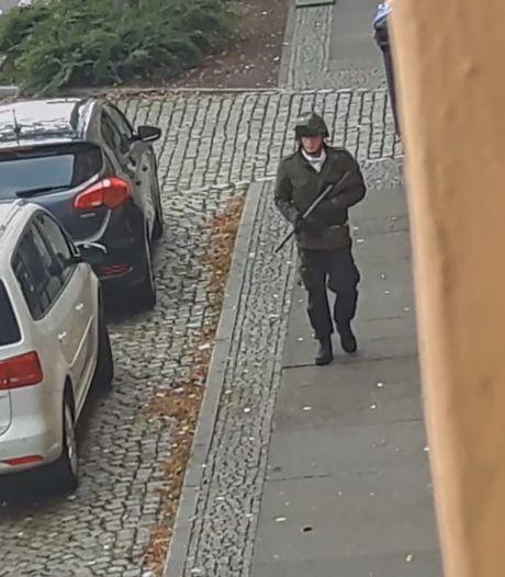 Schutter Halle lijkt extreemrechts, filmde doodschieten slachtoffers