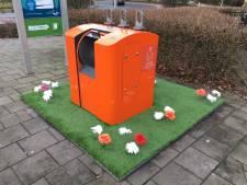 Bloemen maken plaats voor buxus: dumpen afvalzakken wordt nog moeilijker
