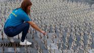 Vluchtelingenwerk vraagt met 900 beeldjes aandacht  voor verdronken vluchtelingen