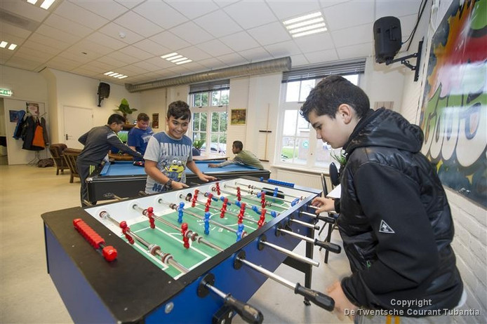 Een activiteit voor kinderen in wijkcentrum De Schoppe