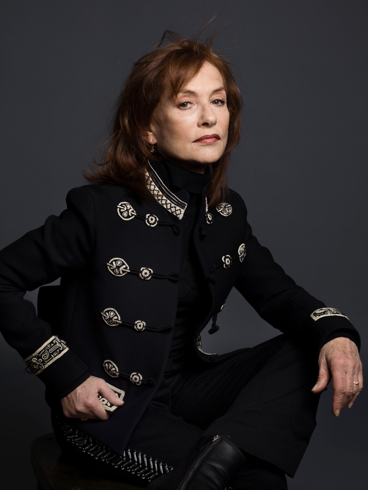 Actrice Isabelle Huppert.